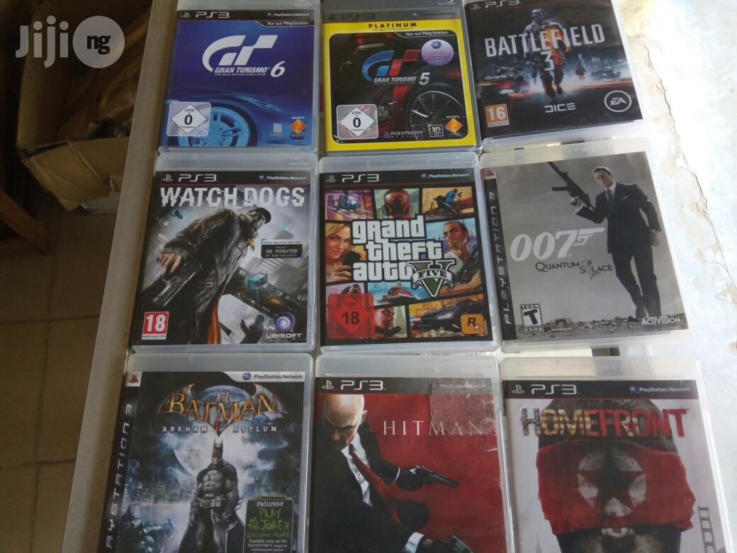 PS3 Latest Game And Adventures Cds