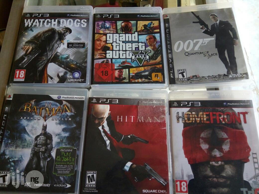 PS3 Latest Game And Adventures Cds | Video Games for sale in Ibadan, Oyo State, Nigeria
