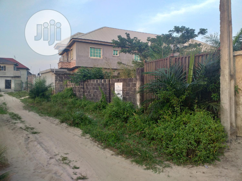 Prime Plots of Fenced Land Near Mayfair Gardens Ibeju-Lekki For Sale.