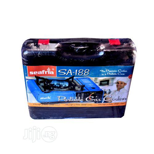 Portable Gas Stove With 4 Free Gas Cartridge | Kitchen Appliances for sale in Lagos Island, Lagos State, Nigeria