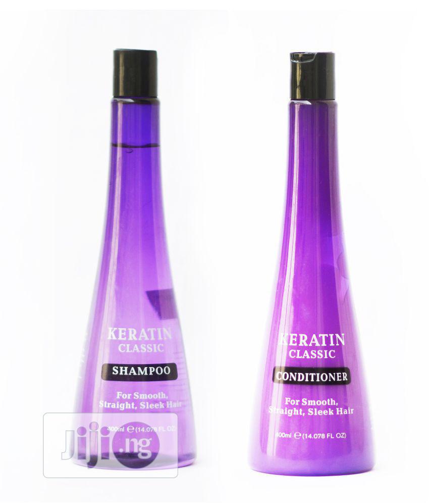 Keratin Classic Shampoo And Conditioner