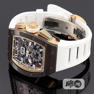 Richard Mille Chronograph Rubber Strap Watch | Watches for sale in Lagos State, Lagos Island (Eko)
