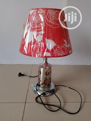 Red Bedside Lamp