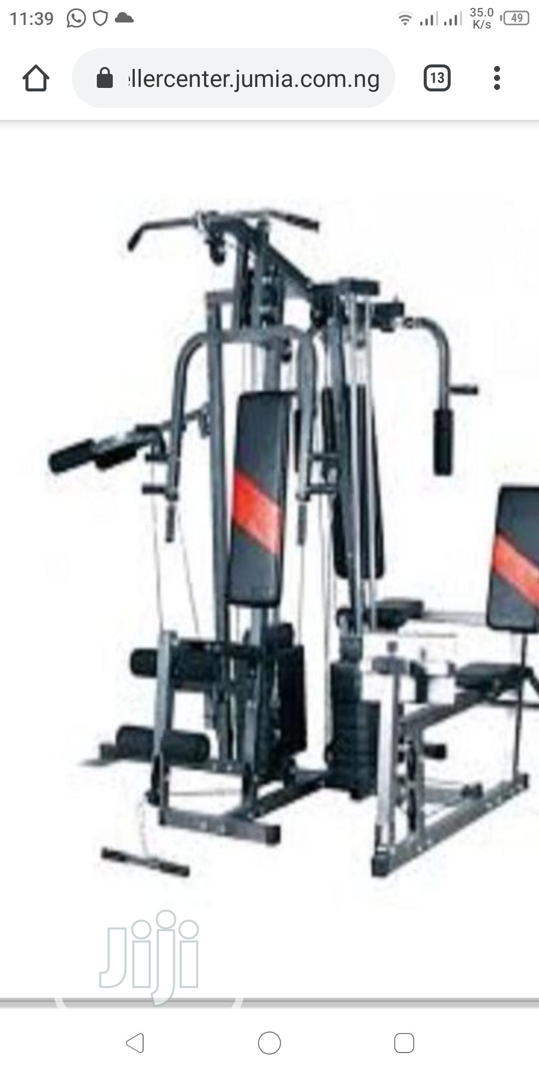 4 Station Gym