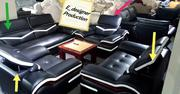 Italian Leather Sofa With Reclining Head Rest (By7 1+1+2+3) | Furniture for sale in Lagos State, Lekki Phase 1