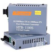 Netlink HTB-1100S Optical Media Converter 10/100mbps RJ45 Single Mode   Networking Products for sale in Lagos State, Ikeja