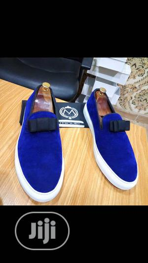Blue Velvet Sneakers   Shoes for sale in Lagos State, Mushin