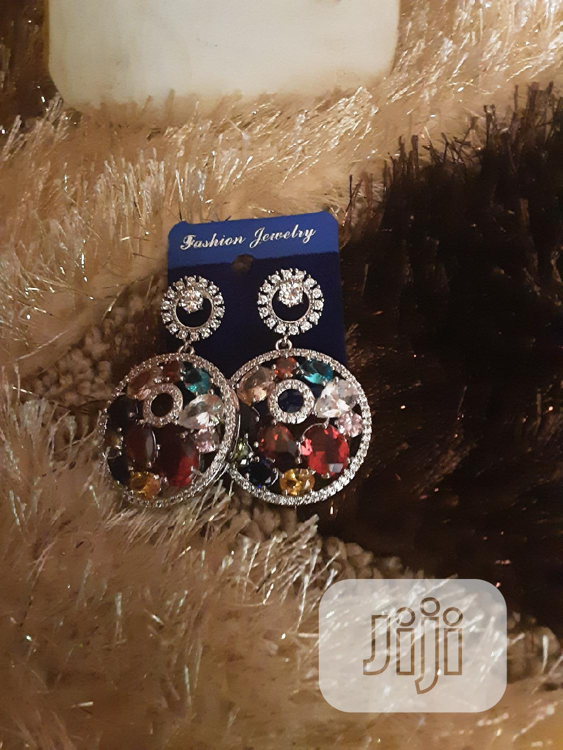 Cubic Zirconia Earring | Jewelry for sale in Lekki Phase 1, Lagos State, Nigeria