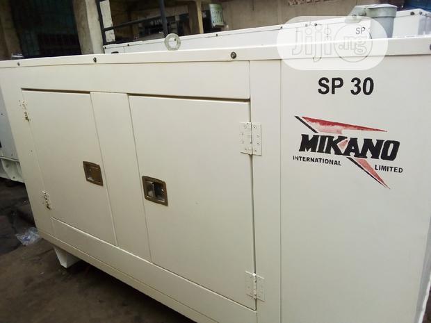 30kva Generator Soundproof Mikano