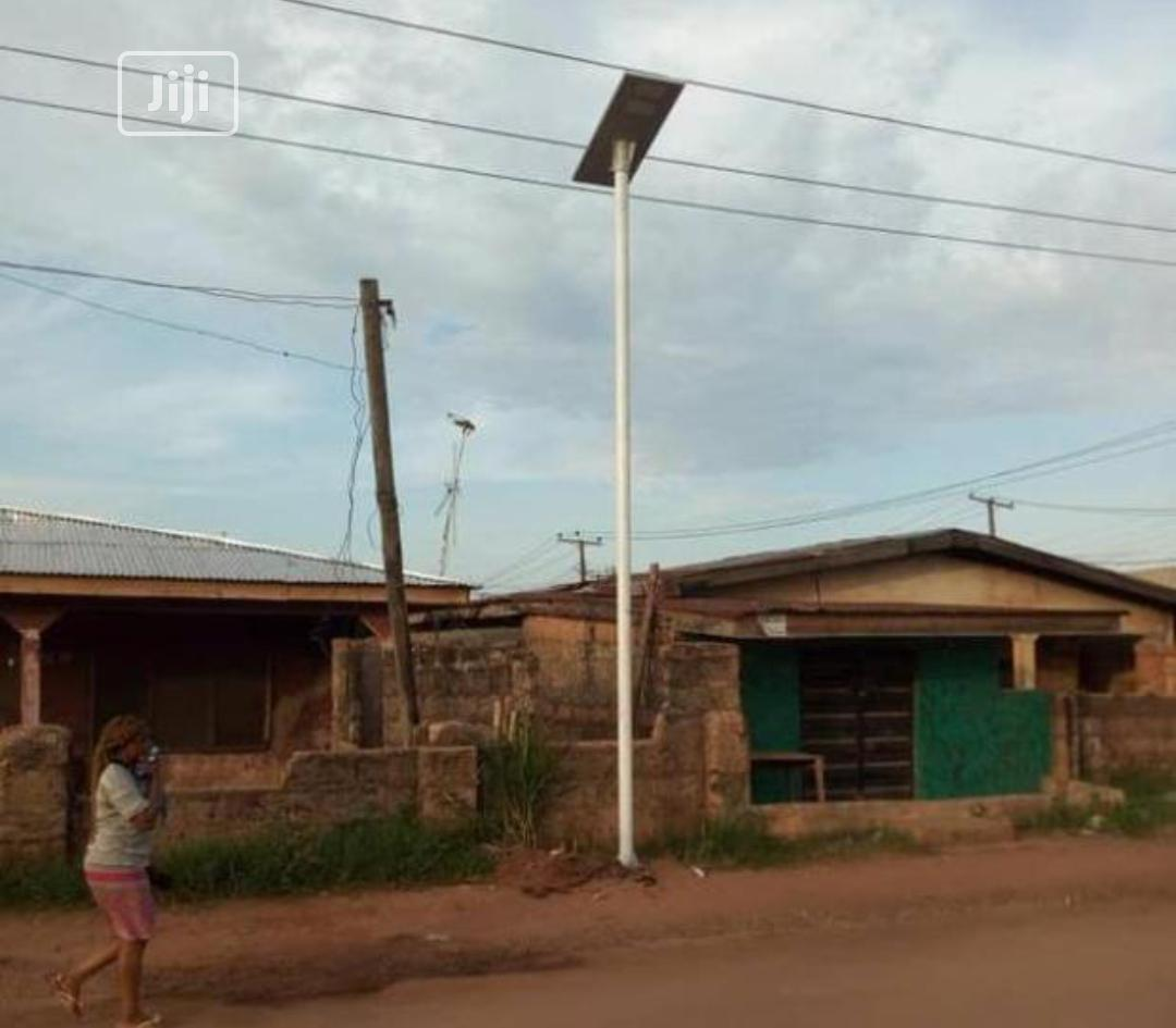 All In One Solar Street Light And Pole 2 Years Warranty | Solar Energy for sale in Ojo, Lagos State, Nigeria
