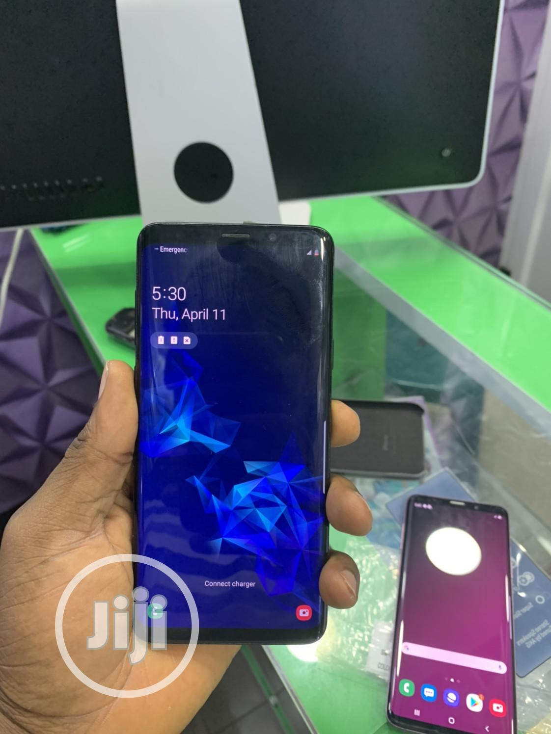 Samsung Galaxy S9 Plus 64 GB Black | Mobile Phones for sale in Ikeja, Lagos State, Nigeria