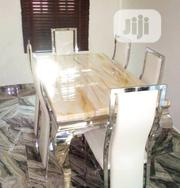 Quality Marble Dining Table by Six Seater . | Furniture for sale in Oyo State, Igbo Ora