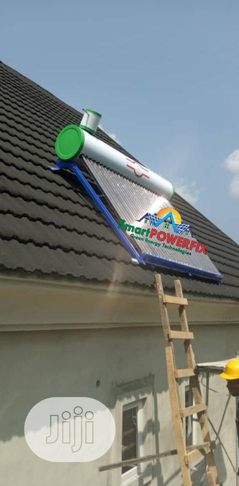 Replace You Electric Water Heaters With A Solar Water Heater