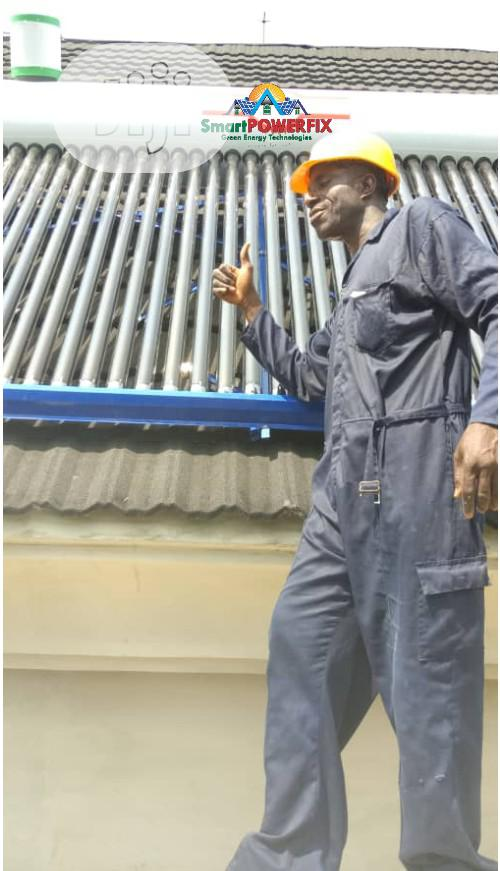 Replace You Electric Water Heaters With A Solar Water Heater | Solar Energy for sale in Central Business Dis, Abuja (FCT) State, Nigeria