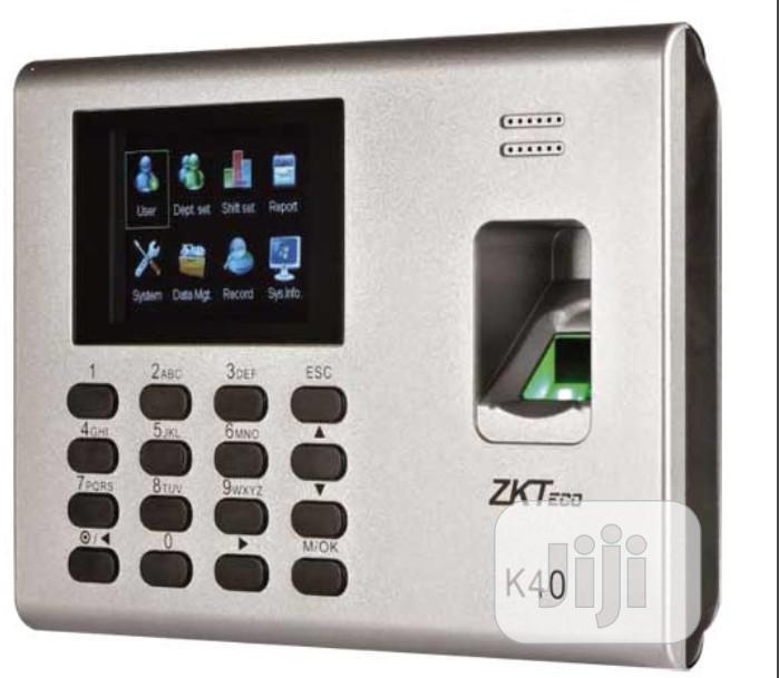 ZK Teco Zkteco K40 Fingerprint Time And Attendance / Access Control