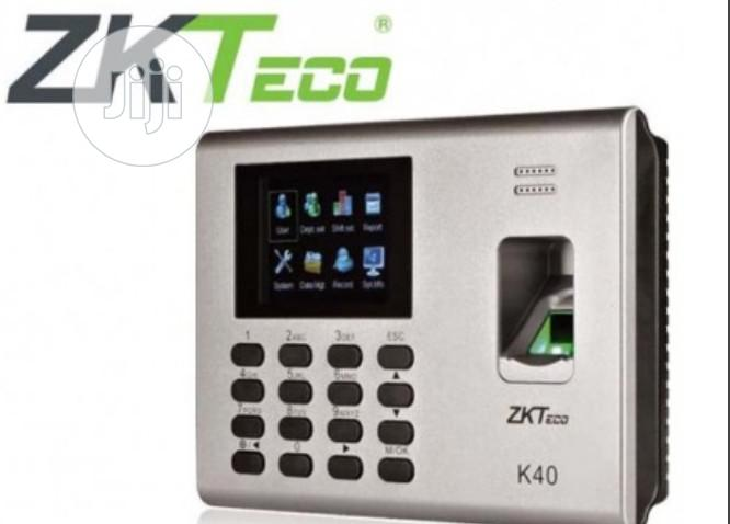 ZK Teco Zkteco K40 Fingerprint Time And Attendance / Access Control