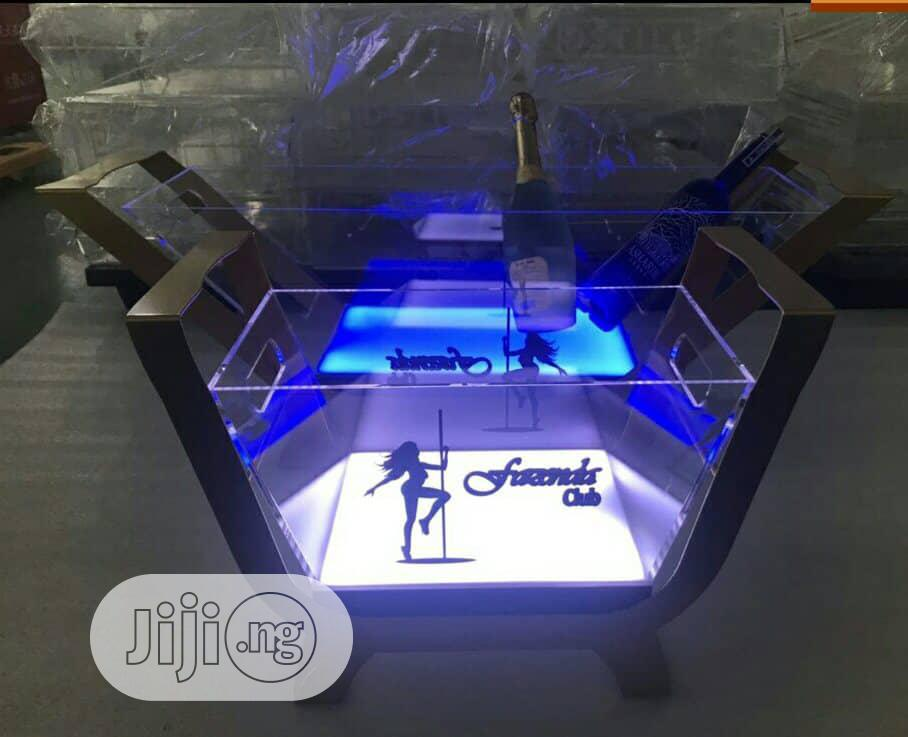 6 Bottles LED Champagne Casket | Home Accessories for sale in Lagos Island (Eko), Lagos State, Nigeria