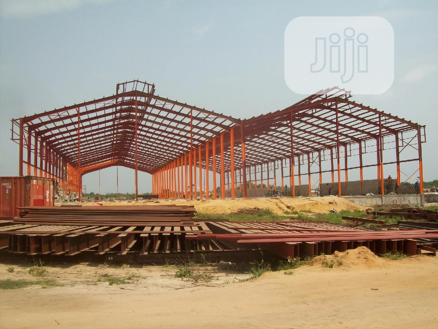 Fab & Erection Of Steel Structures For Ware House & Other Buildings | Manufacturing Services for sale in Oshodi-Isolo, Lagos State, Nigeria