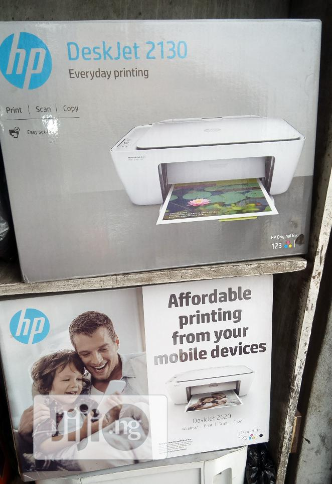 Brand New Imported Desk Jet HP Printer 3in1. Copy, Scan and Print. | Printers & Scanners for sale in Lagos State, Nigeria
