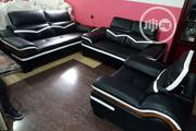 Imported Sofa Chair. Original Leather. With Guarantee | Furniture for sale in Lagos State, Ajah