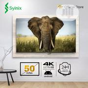 """Syinix 50"""" Inch Android 4k UHD Smart LED TV- T730U Series 