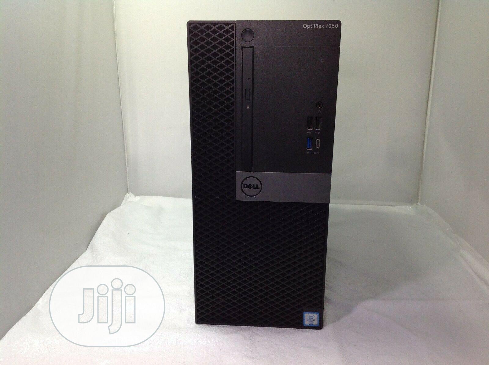 New Desktop Computer Dell OptiPlex 7050 16GB Intel Core i7 HDD 1T   Laptops & Computers for sale in Ikeja, Lagos State, Nigeria