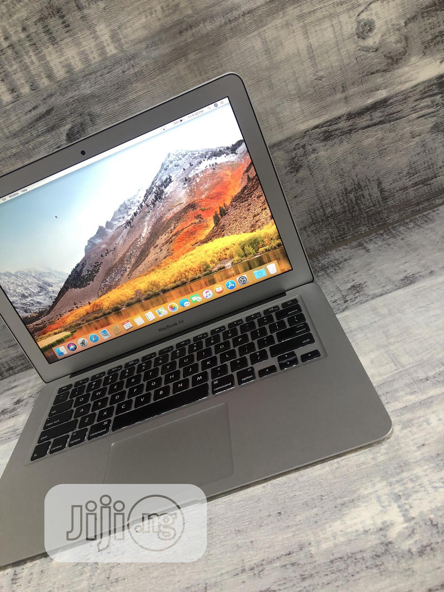 Laptop Apple MacBook Air 2017 8GB Intel Core i7 SSD 128GB | Laptops & Computers for sale in Ikeja, Lagos State, Nigeria