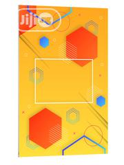 Abstract Geometric Model Background Art Poster   Arts & Crafts for sale in Lagos State, Lekki Phase 1