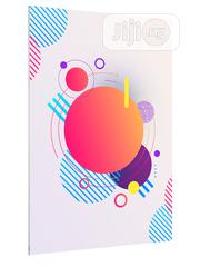 Abstract Geometric Modern Circles Background Art Poster   Arts & Crafts for sale in Lagos State, Lekki Phase 1