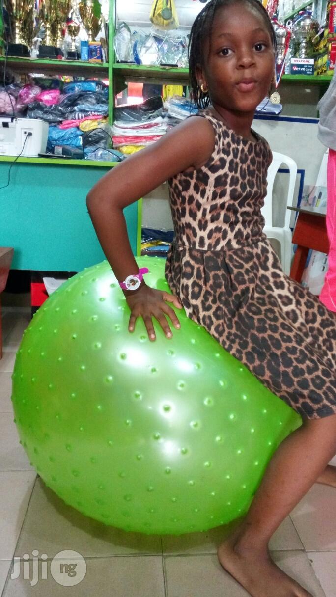 Massaging Nd Plan Fitness Gym Ball