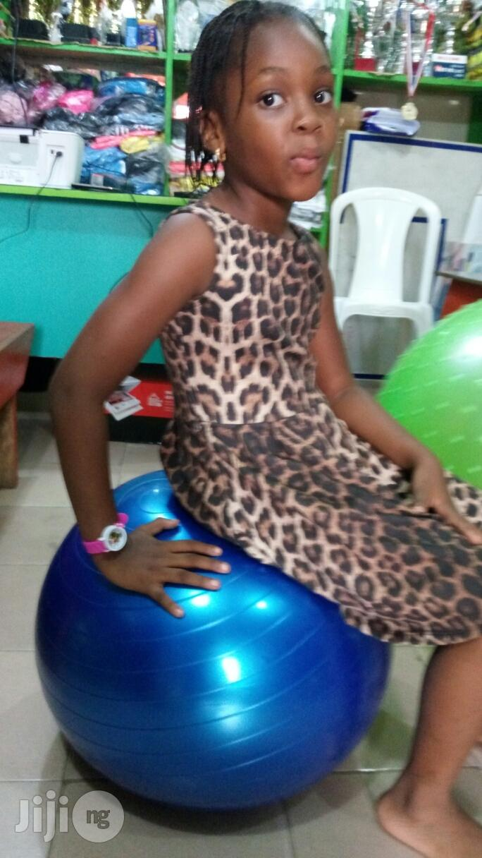 Massaging Nd Plan Fitness Gym Ball | Sports Equipment for sale in Ikeja, Lagos State, Nigeria
