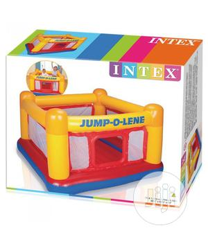 Intex 48260 Inflatable Game Center Trampoline Playhouse Jump-o-lene | Toys for sale in Lagos State, Ikorodu