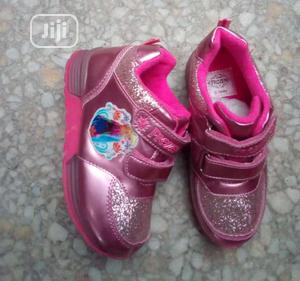 Pink Frozen Canvas For Girls | Children's Shoes for sale in Lagos State, Lagos Island (Eko)