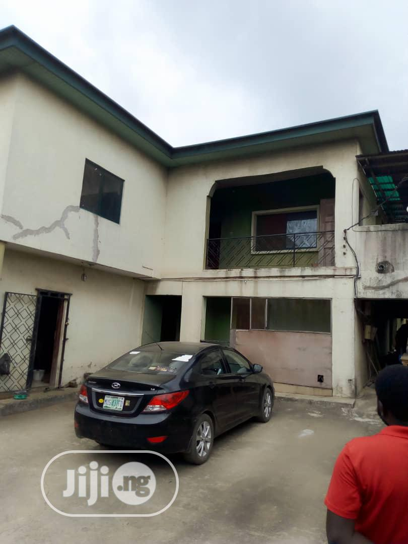 Standard Block of 4 Flats of 3 Bedroom At Agege Ota Road For Sale.