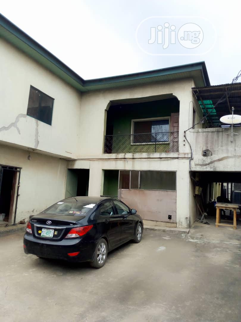 Standard Block of 4 Flats of 3 Bedroom At Agege Ota Road For Sale.   Houses & Apartments For Sale for sale in Agege, Lagos State, Nigeria