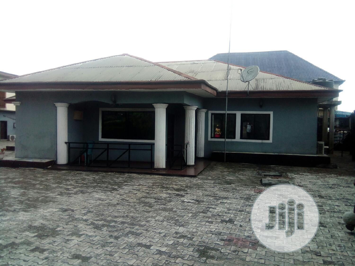 For Sale: 4 Bedroom Bungalow of 2 Plots in Port Harcourt
