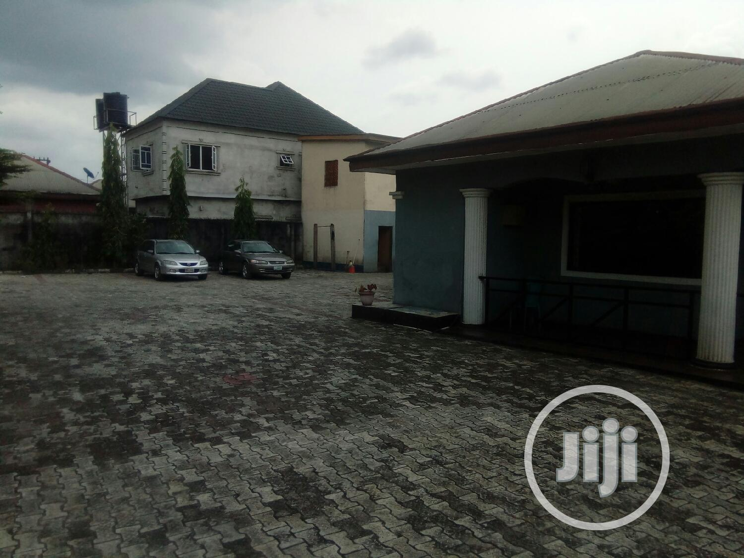 For Sale: 4 Bedroom Bungalow of 2 Plots in Port Harcourt | Houses & Apartments For Sale for sale in Port-Harcourt, Rivers State, Nigeria