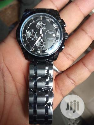Tissot Men's Black Wristwatch   Watches for sale in Lagos State, Surulere