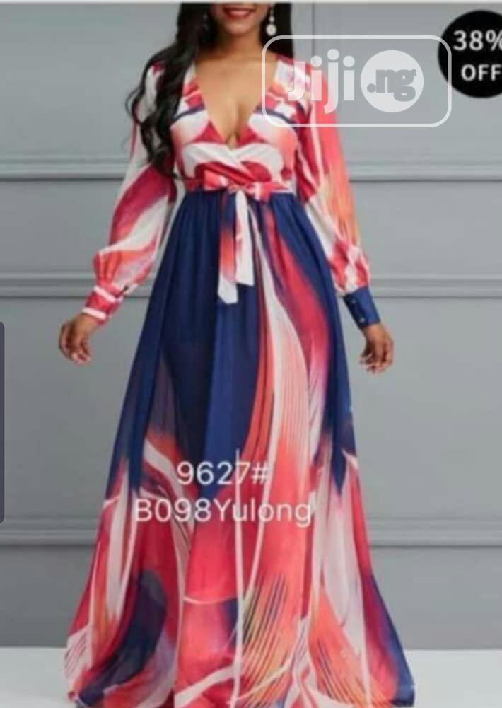 Classy Long Gown   Clothing for sale in Lagos Island, Lagos State, Nigeria