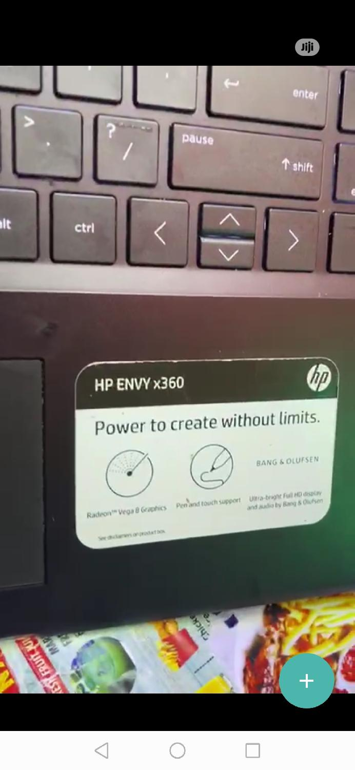 Laptop HP Envy X360 8GB Intel Core i5 SSD 256GB   Laptops & Computers for sale in Ikeja, Lagos State, Nigeria