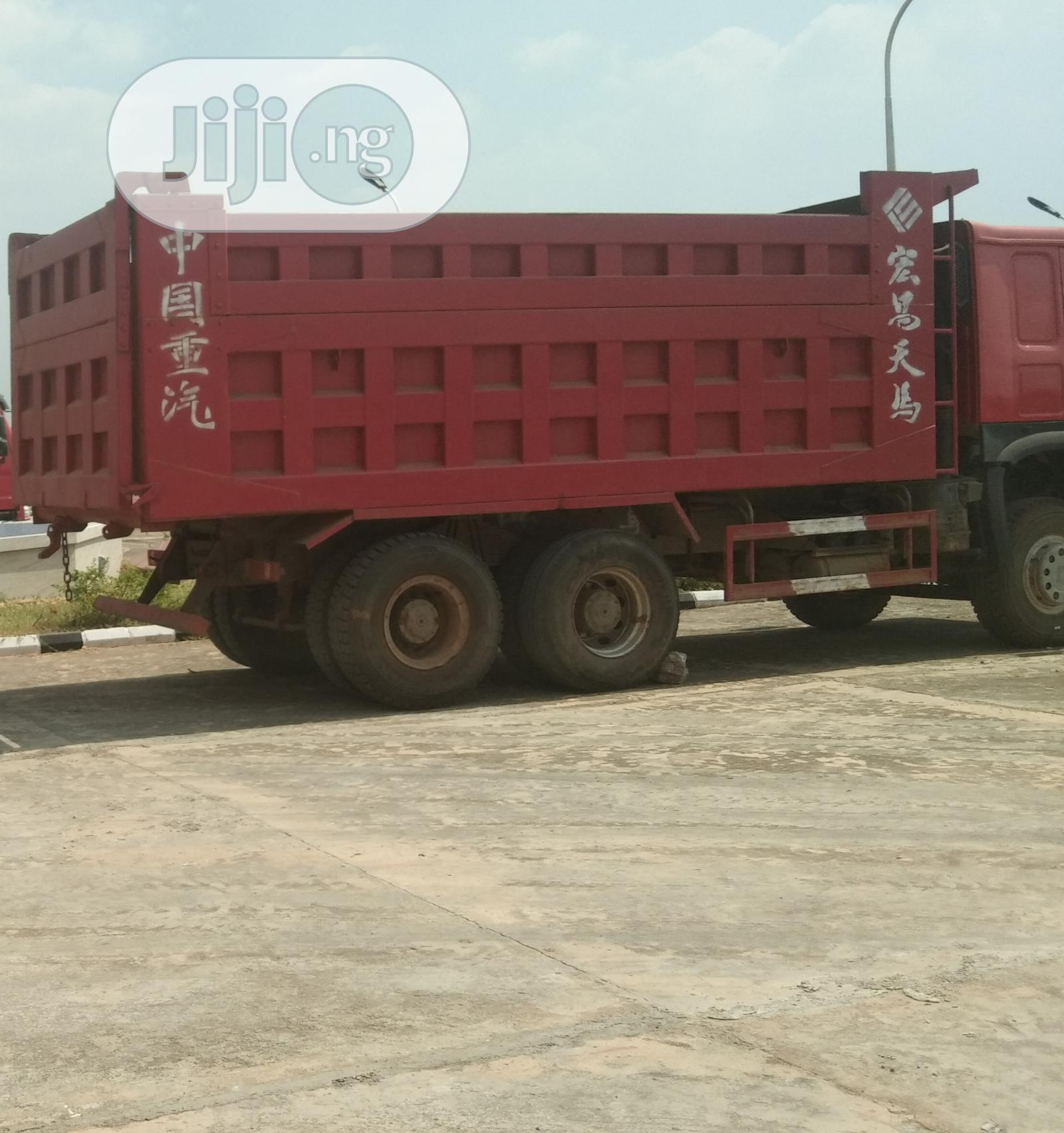 Archive: Foreign Used Howo Tipper Trucks