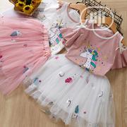 Girls Unicorn Designed Skirt and Blouse   Children's Clothing for sale in Lagos State, Ikorodu