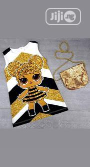 Girls Dress With Handbag   Children's Clothing for sale in Lagos State, Ikorodu