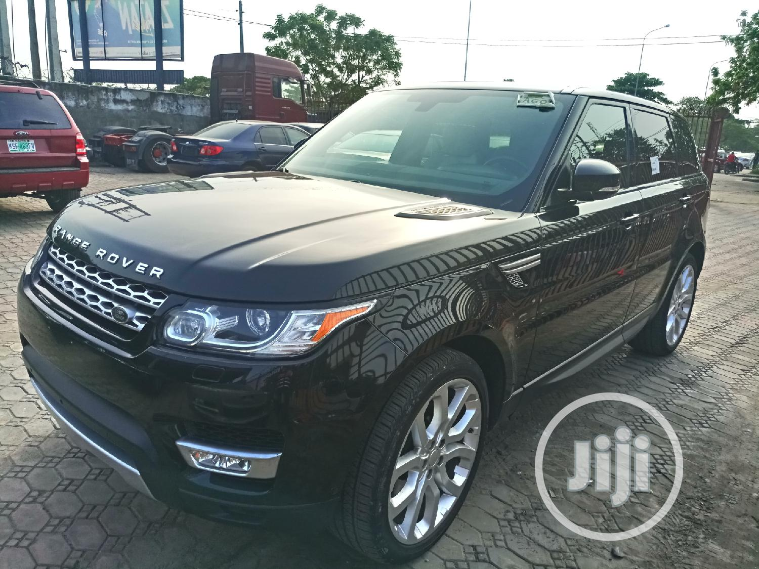 Land Rover Range Rover Sport 2014 HSE 4x4 (3.0L 6cyl 8A) Black