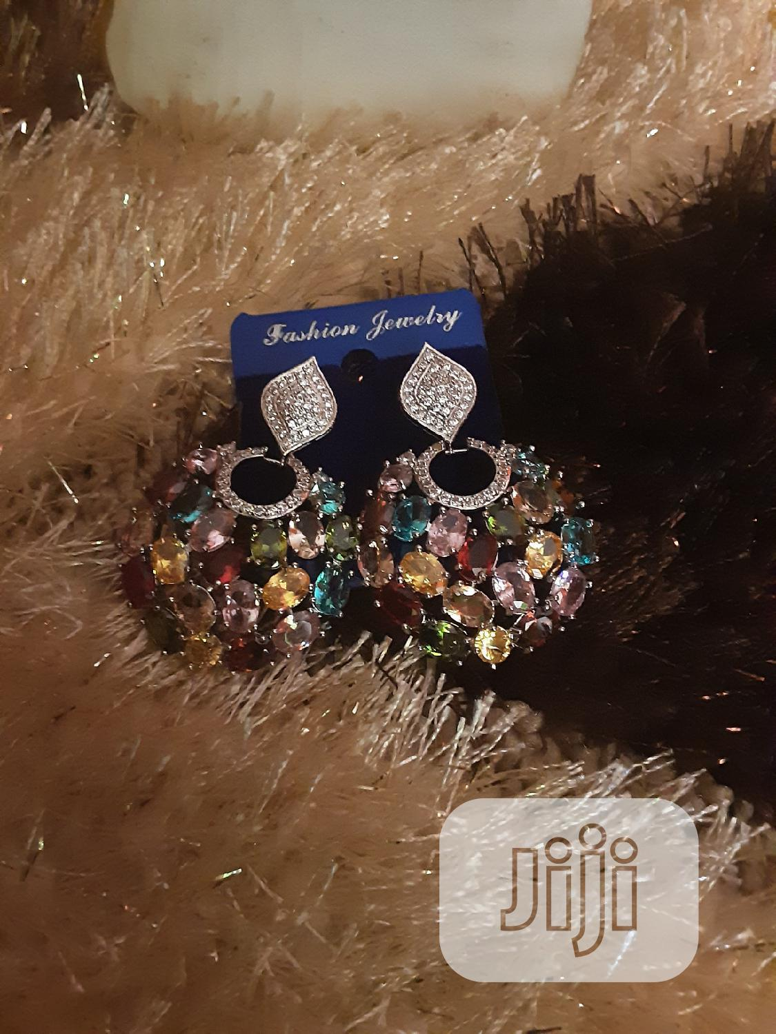 Cubic Zirconia Earrings | Jewelry for sale in Lekki Phase 1, Lagos State, Nigeria