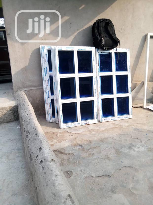 Sliding Windows With 5mm Blue Glasse