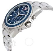 Emporio Armani Sport Blue Dial Men's Chronohgraph Watch | Watches for sale in Lagos State, Victoria Island