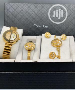 Calvin Klein (CK) Gold Set Watch For Women's | Watches for sale in Lagos State, Lagos Island (Eko)