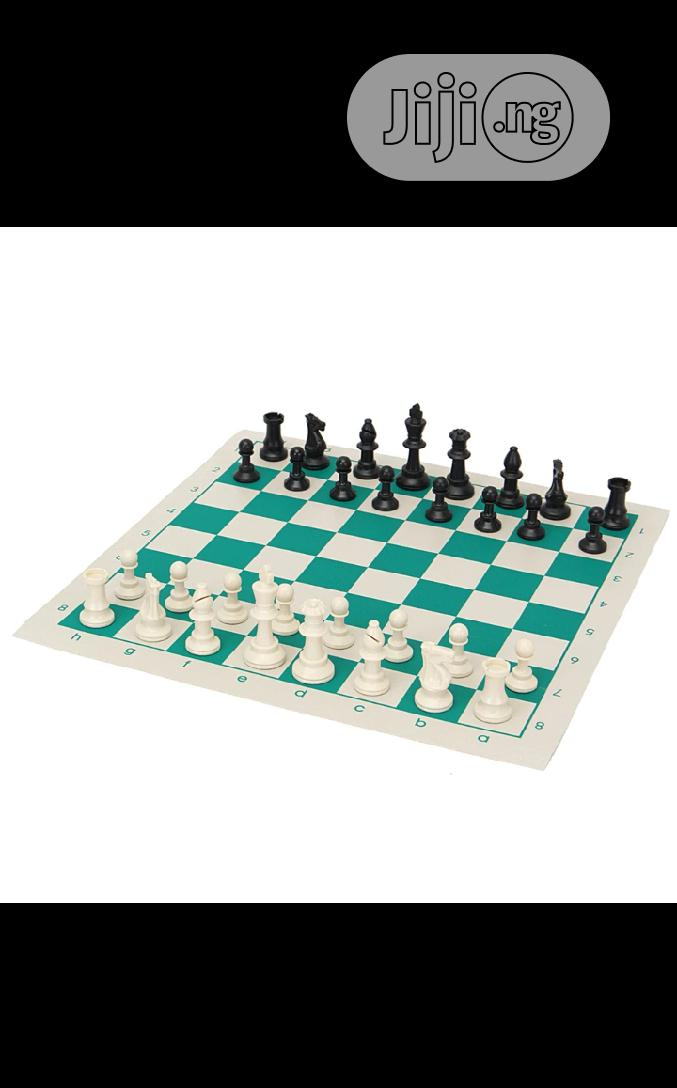 Tournament Chess Set Game With Portable Travel Carrier Box | Books & Games for sale in Surulere, Lagos State, Nigeria