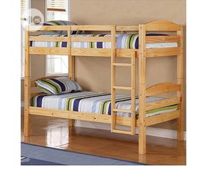 Wooden Bed Frame | Furniture for sale in Lagos State, Mushin